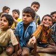 Indian Kids in the Jaisalmer Desert, Rajasthan, India — Stock Photo #56835989