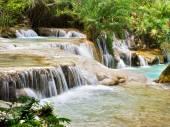 Tat Kuang Si Falls, Luang Prabang, Laos — Stock Photo
