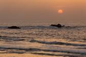 Indian summer sunset — Stockfoto