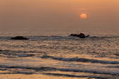 Indian summer sunset — Foto Stock