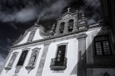 Old conventual church — Stock Photo