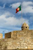Portuguese flag — Stock Photo