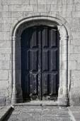 Old church door — Stock Photo