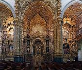 San Francisco lateral altars — Stock Photo