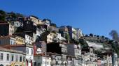 Oporto old houses — Stock Photo