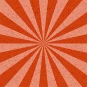 Sunburst orange tone Pattern background. Vector illustration — Stock Vector