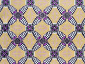 Manufactured African fabric (cotton) — Stock Photo