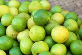 Fresh lemon in the market — Stock Photo