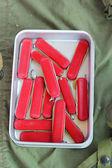 Knife lot vintage style for sale — Stockfoto