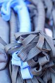 Rope strap several colors for sale — Stock Photo