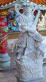 Statue of Chinese deity — Stock Photo