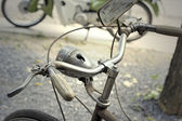 Close up vintage bicycle  — Stock Photo