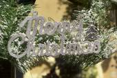 Christmas decorative labels signs of christmas — Stockfoto