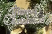 Christmas decorative labels signs of christmas — Foto de Stock