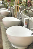 Faucets and sinks — Foto Stock