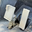 Brake and accelerator pedal for cars. — Stock Photo #70900321