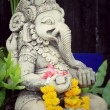 Close up ganesha , made from stucco work — Stock Photo #74026967