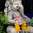 Close up ganesha , made from stucco work — Stock Photo #74028189