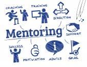 Mentoring — Stock Vector