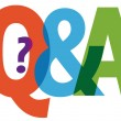 Questions and answers — Stock Vector #75149977