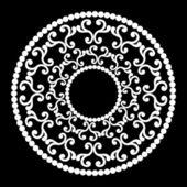 Classic round ornament — Stock Vector
