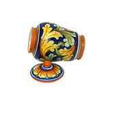 Oriental Jar (open left) — Fotografia Stock