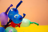 Ballon achtergrond — Stockfoto