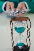 Time running — Stock Photo