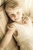 Innocent little child — Stock Photo