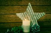 Weihnachtsdekoration. — Stockfoto
