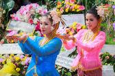 Thai dancing funeral — ストック写真