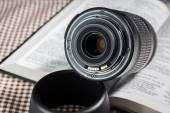 Auto focus lens — Stockfoto