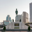 Back of The statue of King of Siam Vajiravudh — Stock Photo #71878949