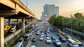 Rush Hour in Bangkok Centre — Stock Photo