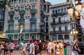 Barcelona in September, Spain — Stock Photo