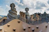 Gaudi, Barcelona in September, Spain — Stockfoto