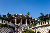 Barcelona in September, Spain — Stockfoto