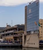 Barcelona in September, Catalan — Stockfoto