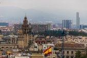 Барселона в сентябре, каталанский — Стоковое фото