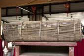 Fish trap bamboo equipment — Stock Photo