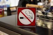 Aucun signe de fumer — Photo