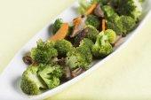 Stir fried Three vegetables — Stock Photo