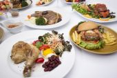 Many of International Food  — Stock Photo