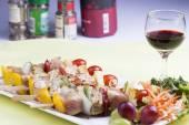 Grill Pork barbecue — Stock Photo