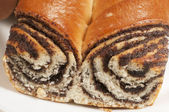 Home sweet rolls with poppyseeds — Stock Photo