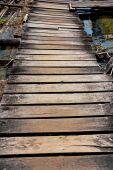 Wood tarrace texture background — Foto Stock