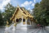 Phra That Chom Kitti, Chiang Saen, Thailand, — Foto Stock
