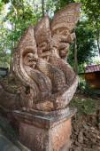 Naga statue, Buddhist Dragon — Stock Photo