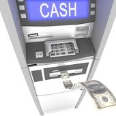 Atm cash machine — Stock Photo