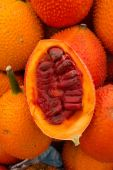 Gac Fruit (Momordica cochinchinensis) — Stock Photo